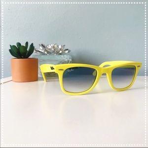 Yellow Ray-Ban Original Wayfarer Sunglasses